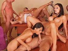 Remarkable, Milf and orgy