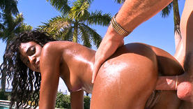 sexy erykuh starz gets black cock outside