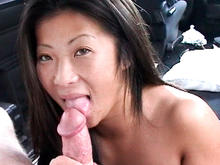 Tight Asian Pussy On The BangBus