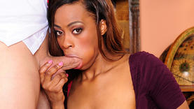 brunette girl getting fucked by black cock