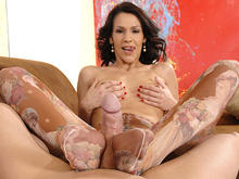 Latina Footjob Supreme!