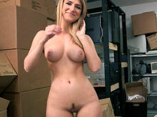 Blonde Southern Bell Gets Banged