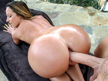 Jada Steven's gets some cock for her big ass