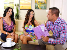 Ariella Ferrera, Ava Addams in My Friends Hot Mom