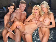 Nikki Benz, Emma Starr, Jessica Jaymes in I Have a Wife