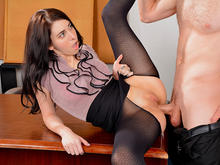 Luna C. Kitsuen in Naughty Office