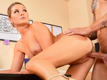 Abby Cross in Naughty Office
