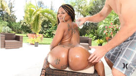 pierced ebony outside