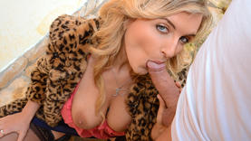 cute cowgirl squirt outside
