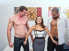 Liza del Sierra, Jordan Ash & Karlo Karrera in Naughty Office