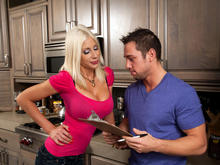 Puma Swede & Johnny Castle in Seduced by a cougar
