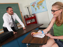 Allie James & Alec Knight in Naughty Bookworms