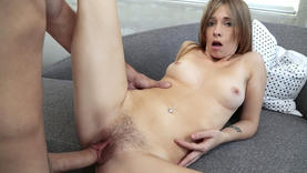 pierced kaylee jewel makes perfect handjob
