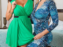 Ava Addams, Julia Ann, Johnny Castle in I Have a Wife