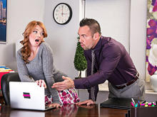 Marie McCray, Johnny Castle in Naughty Office