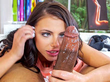 Adriana Chechik Battles A Monster