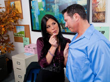 Rebeca Linares & John Strong in Naughty Office