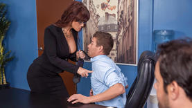 horny and milf on work