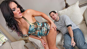 oiled milf gets cock in her ass