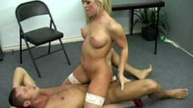 nurse milf blows cock with doctor