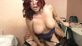 nice red hair slut