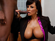 Lisa Ann Gives Motivation To Jon-Jon
