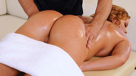 krissy lynn getting sexy massage