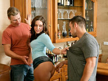 Gracie Glam, Johnny Castle & Michael Vegas in My Sisters Hot Friend