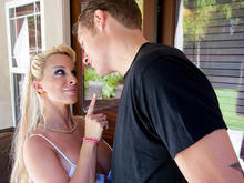 Holly Halston & Chris Johnson in My Friends Hot Mom