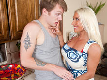 Ashlee Chambers & Patrick J. Knight in My Friends Hot Mom