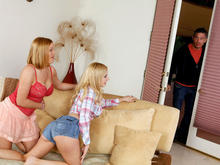 Lexi Belle, Krissy Lynn & Mick Blue in 2 Chicks Same Time