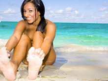 Beachside Feet Fun